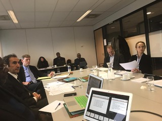 First meeting of the Curatorium of the Institute held on Saturday 8 February 2020 in The Hague (The Netherlands) at the Headquarters of the African Foundation for International Law
